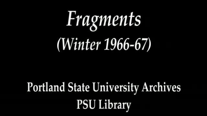 Fragments (Winter 1966-67)