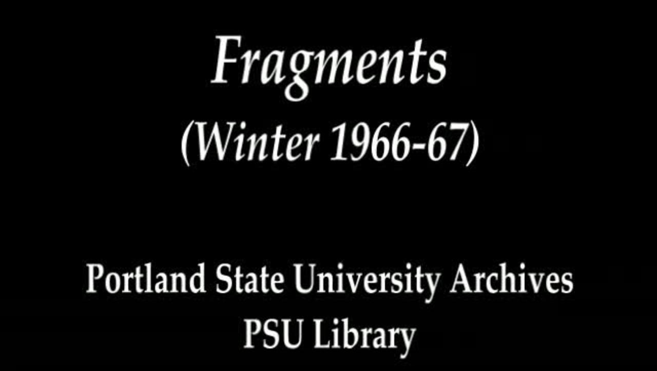 Fragments (Winter 1966-67)