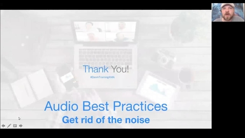 Thumbnail for entry Zoom Audio Best Practices