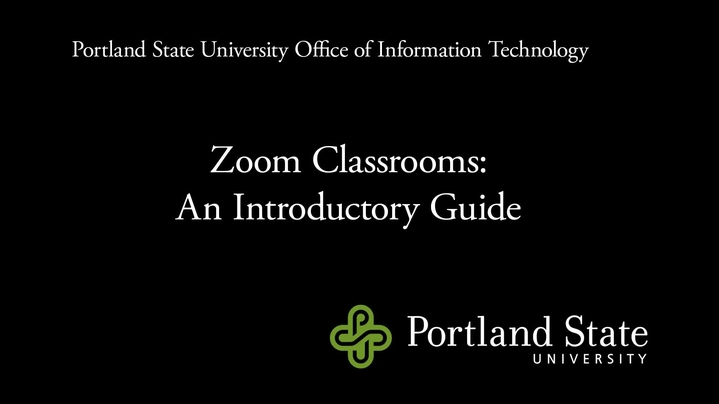 Thumbnail for channel Zoom Classroom Videos