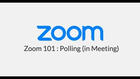 Thumbnail for entry Polling (In Meeting)