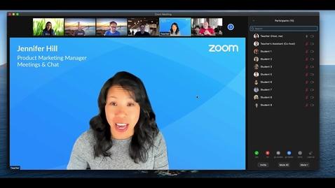 Thumbnail for entry Zoom Multi-Spotlight, Multi-Pin & Video Reordering