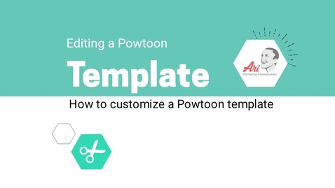 Thumbnail for entry PowToon - 6 - Customize a Template