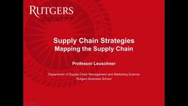 Thumbnail for entry Mapping the Supply Chain