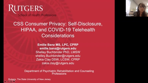 Thumbnail for entry  Consumer Privacy Webinar 7.10.20