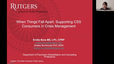 Thumbnail for entry When Things Fall Apart- Supporting CSS Consumers in Crisis Management (11/6/20)