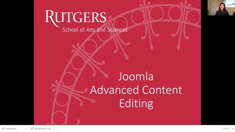 Thumbnail for entry Joomla-Content-Editing