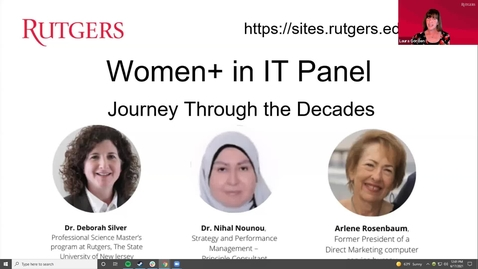 Thumbnail for entry Women  in IT Panel