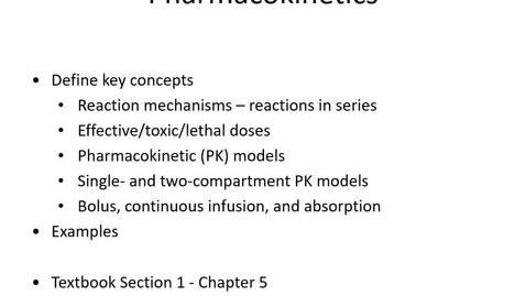 Thumbnail for entry Lesson5 Pharmaco1
