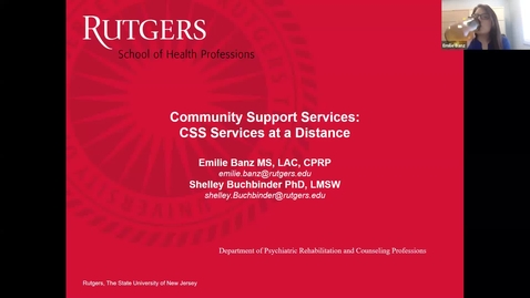 Thumbnail for entry Community Support Services at a Distance Learning Application April 29, 2020