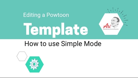 Thumbnail for entry PowToon - 4 - How to Edit a Template