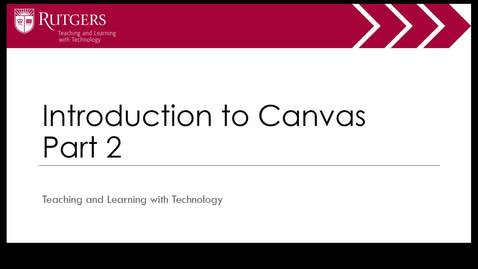 Intro to Canvas Part 2 of 4