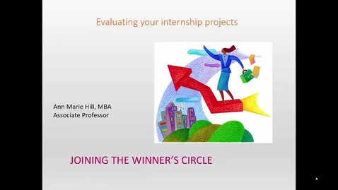 Thumbnail for entry Evaluating your project