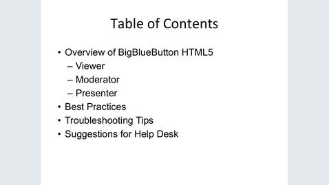 Thumbnail for entry Engaging Students Online Using BigBlueButton/Conferences