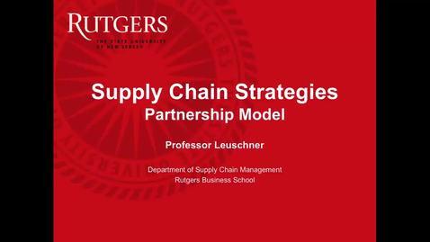 Partnerships - Part 1
