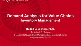 Thumbnail for entry Inventory Management - Part 1
