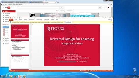 Thumbnail for entry Accessibility _ Universal Design for Learning (Images and Videos)