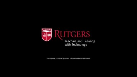 Thumbnail for entry Online Teaching Video Pt. 3