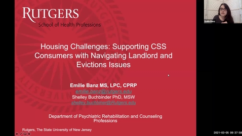 Thumbnail for entry Housing Challenges Webinar (3/5/21)