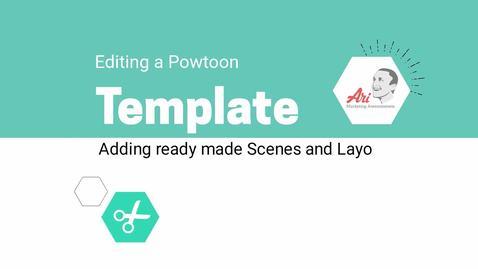PowToon - 5 - Adding Ready Made Slides