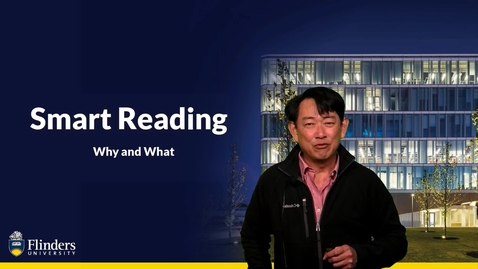 Thumbnail for entry Smart Reading - Reading with Purpose