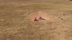 Thumbnail for entry Drone video of Susan Arthure's archeological site