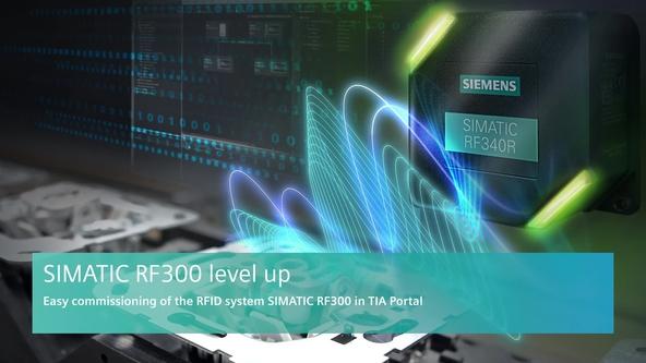 RFID Basic Examples: SIMATIC RF300 via RF180C - ID