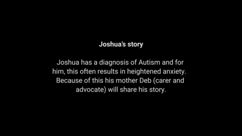 Thumbnail for entry Disability Awareness Video - Josh