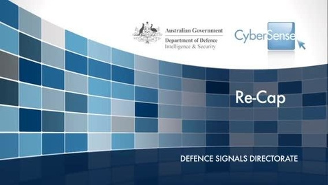 Thumbnail for entry CyberSense 8 : Recap