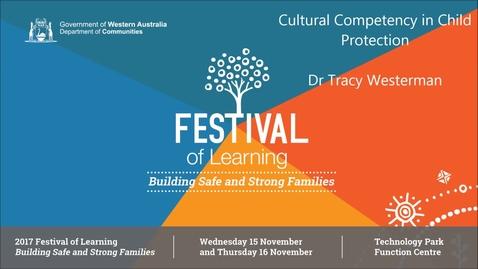Thumbnail for entry 2017FOL Keynote Speaker - Dr Tracy Westerman