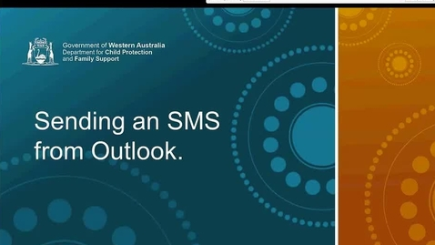 Thumbnail for entry How to: Send an SMS from Outlook