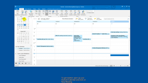 Thumbnail for entry How to: Book a meeting in Outlook 2016