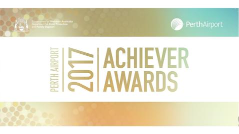 2017 Perth Airport Achiever Awards