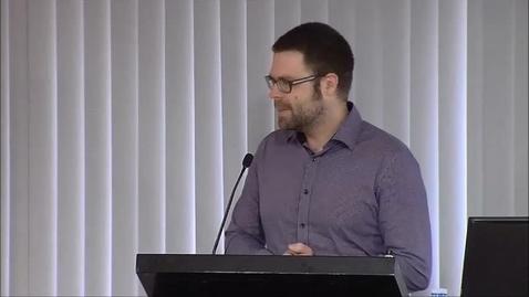 Thumbnail for entry 2015OHC S04 Keynote Speech - Michael King