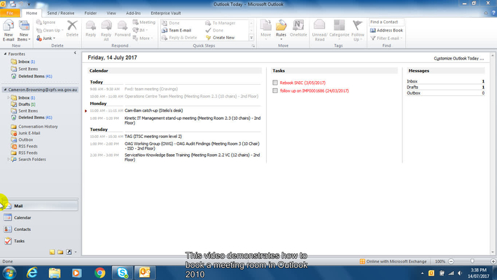 how to set up a lync meeting in outlook 2010