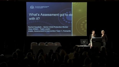 Thumbnail for entry 2014SSG-09 - What's Assessment Got To Do With It? (Fremantle District)
