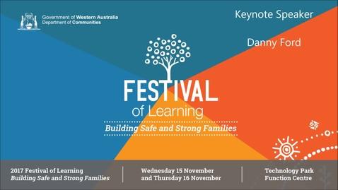 Thumbnail for entry 2017FOL Keynote Speaker - Danny Ford