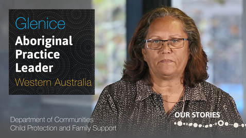 Thumbnail for entry Aboriginal Practice Leader at the Department of Communities Child Protection and Family Support