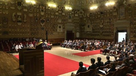 Thumbnail for entry Cerimonia di consegna dei diplomi galileiani 2019