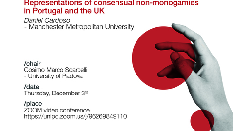 "Thumbnail for entry Daniel Cardoso - Journalism beyond ""The Couple"". Representations of consensual non-monogamies in Portugal and the UK"