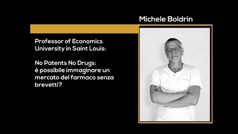 Thumbnail for entry Incontro con Michele Boldrin