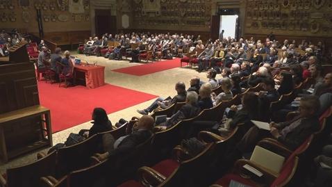 Thumbnail for entry Esplora, misura, racconta. Cerimonia di inaugurazione del primo museo di geografia in Italia