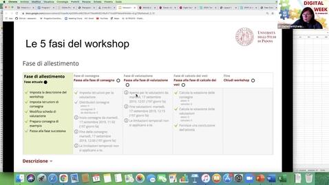 Thumbnail for entry Digital Week - La valutazione tra pari: attività e strumenti