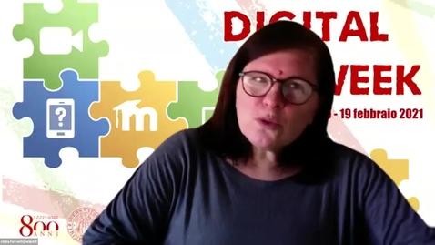 Thumbnail for entry Digital Week - Attività didattiche con Wikipedia