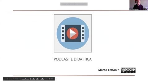 Thumbnail for entry Podcast: uno strumento per la didattica (Marco Toffanin)