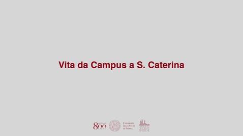 Thumbnail for entry Vita da campus a Scienze Statistiche