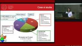 Thumbnail for entry Corso di Laurea in Fisica - Orientamento - Scuola di Scienze