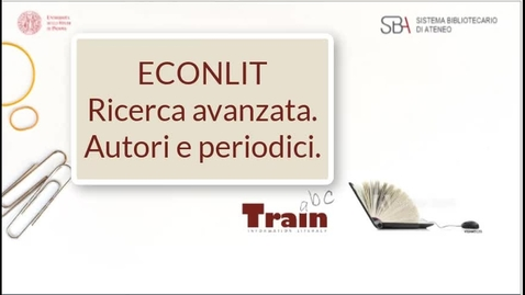 Thumbnail for entry Econlit. Ricerca avanzata. Autori e periodici.