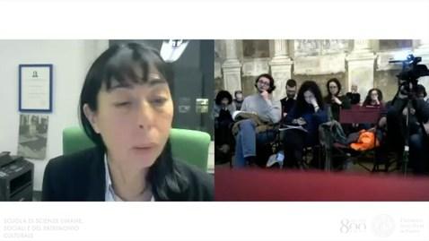 Thumbnail for entry Settimana per il miglioramento della didattica 2019 - Prof.ssa Cecilia Poletto