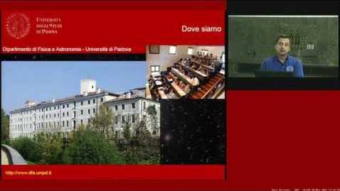 Thumbnail for entry Corso di Laurea in Astronomia - Orientamento - Scuola di Scienze